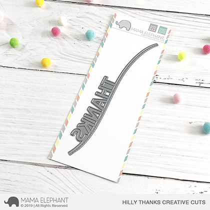 Mama Elephant - Hilly Thanks - Creative Cuts