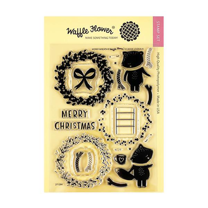 Merry Wreath Stamp Set