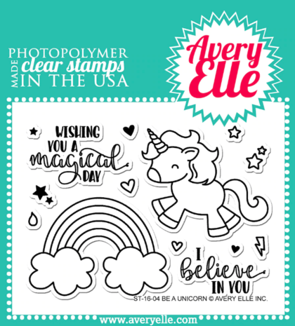 Sellos Avery Elle - Be A Unicorn