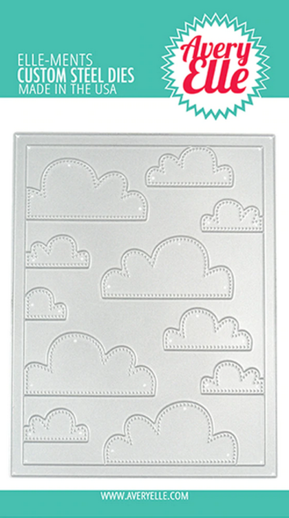 Avery Elle - Troquel - Cloud Mat Elle-ments
