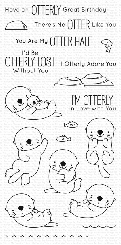 Set de sellos My Favorte Things - BB Otterly Love You