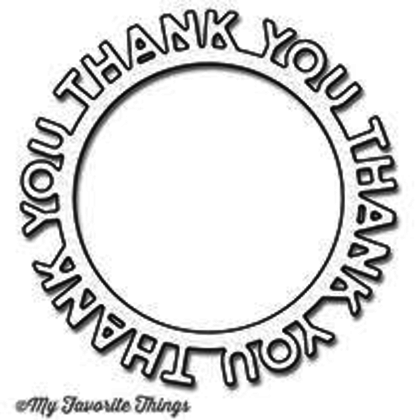 Thank You Circle Frame Die-namics