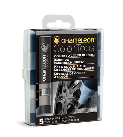 Chameleon Color Tops - Tonos Gray