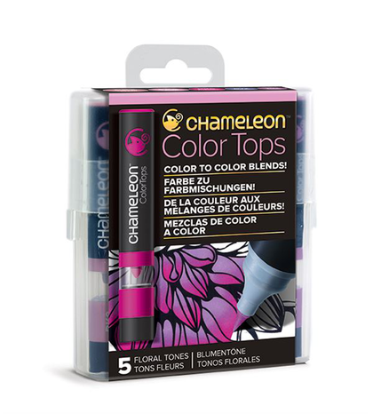 Chameleon Color Tops - Tonos Floral