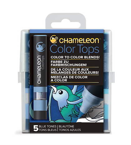 Chameleon Color Tops - Tonos Blue