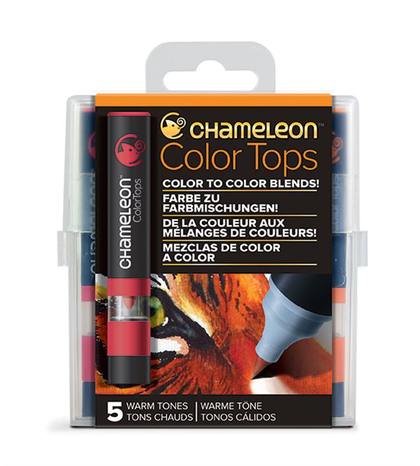 Chameleon Color Tops - Tonos Warm
