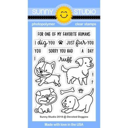 Devoted Doggies Stamps