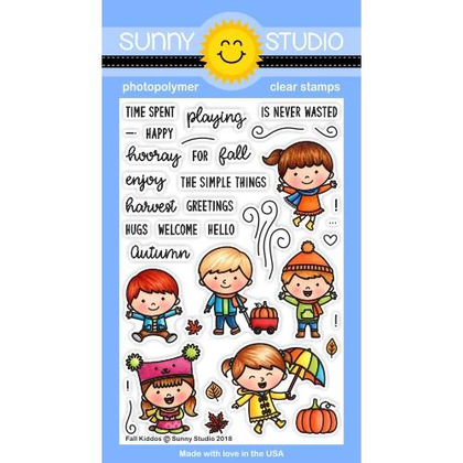 Fall Kiddos Stamps