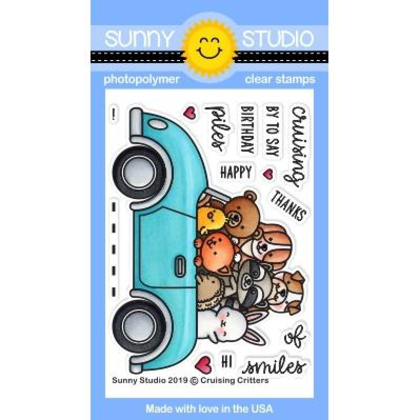 Cruising Critters Stamps