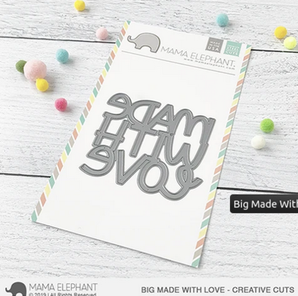 Mama Elephant - Big Made With Love - Creative Cuts