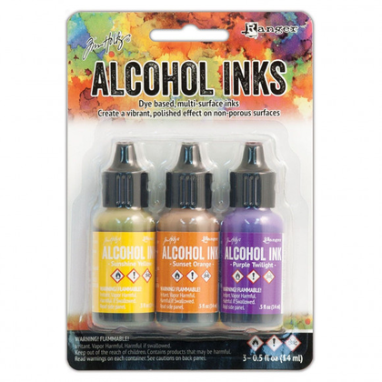 Set tintas alcohol ink summit view