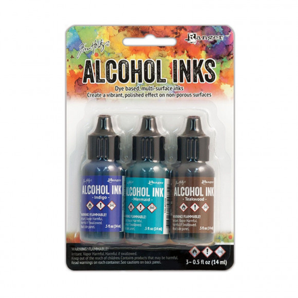 Set tintas alcohol ink mariner