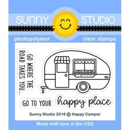 Happy Camper Stamps