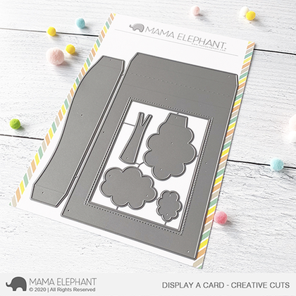 Mama Elephant - Display a Card - Creative Cuts