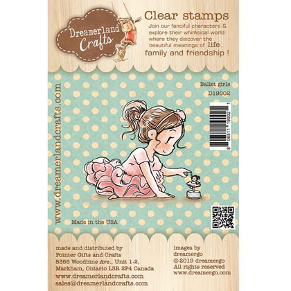 Dreamerland Craft - Ballet girls - Clear