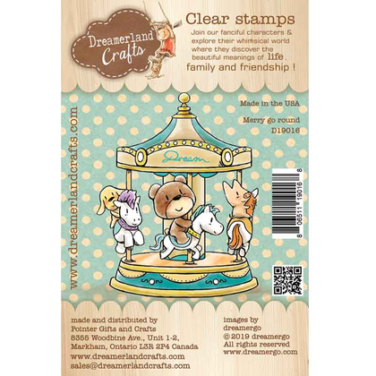 Dreamerland Craft - Merry go round - Clear