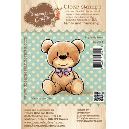 Dreamerland Craft - Big teddy bear - Clear