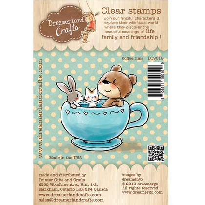 Dreamerland Craft - Coffee time - Clear