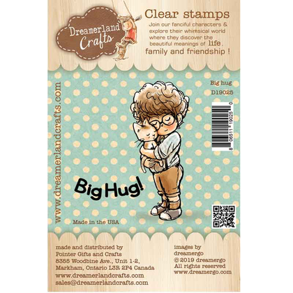 Dreamerland Craft - Big hug - Clear
