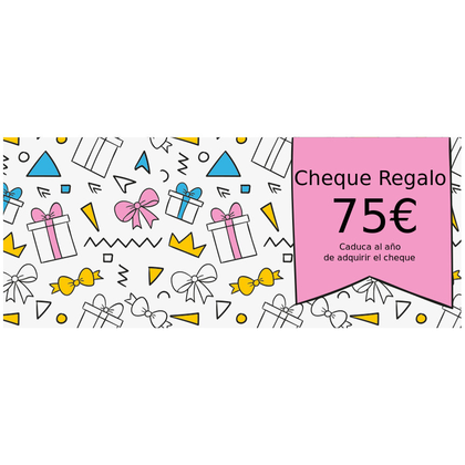 Cheque Regalo 75
