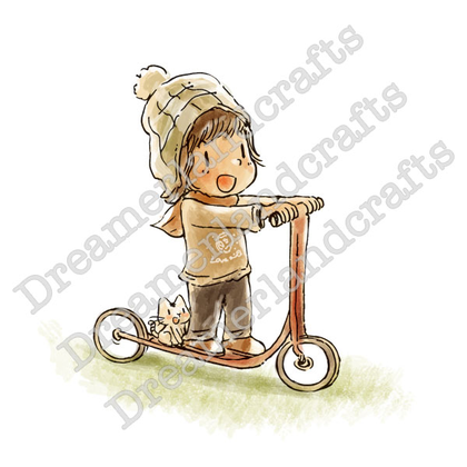 Dreamerland Craft - Scooter Fun