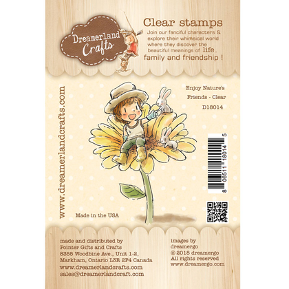 Dreamerland Craft - Enjoy Nature's Friends - Clear
