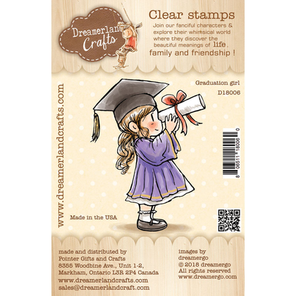 Dreamerland Craft - Graduation Girl - Clear