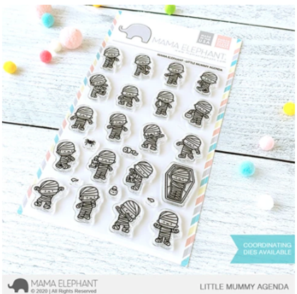 Sellos Mama Elephant - Little Mummy Agenda