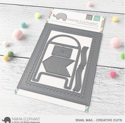 Mama Elephant - Snail Mail - Creative Cuts