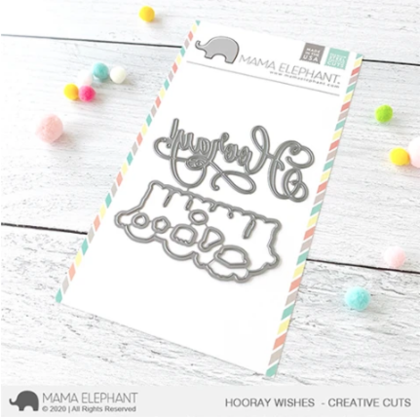 Mama Elephant - Hooray Wishes - Creative Cuts
