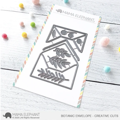 Mama Elephant - Botanic Envelope - Creative Cuts