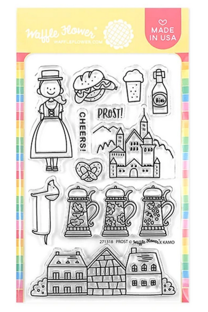 Prost Germany Stamp Set