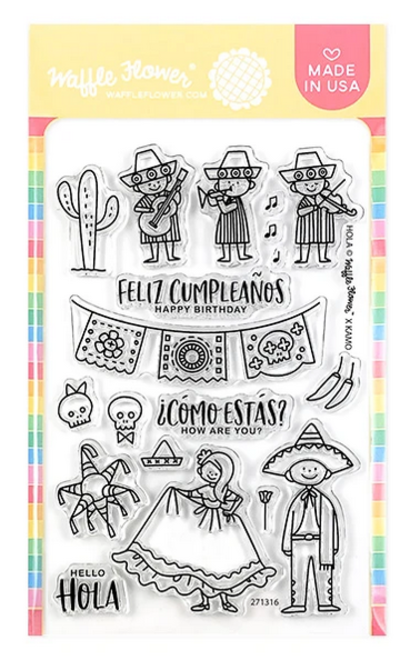 Hola Mexico Stamp Set