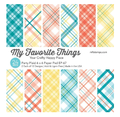 Pad de papeles Party Plaid