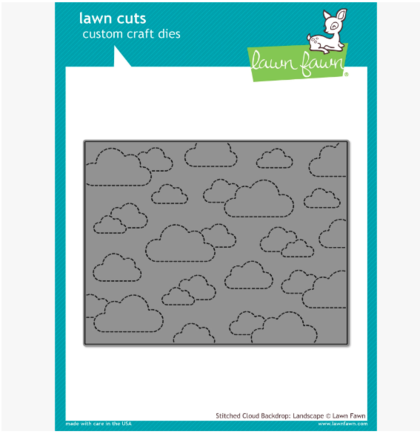 Troquel - Stitched cloud backdrop: landscape