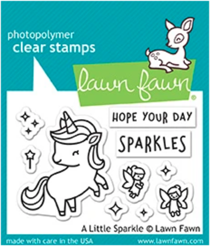 Sellos Lawn Fawn - A little sparkle