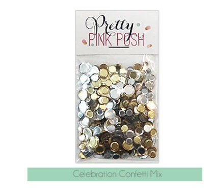 Pretty Pink Posh - Celebration Confetti Mix