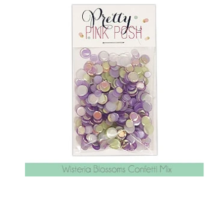 Pretty Pink Posh - Wisteria Blossoms Confetti Mix