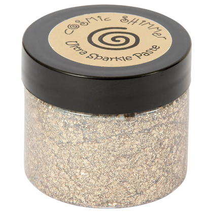 Cosmic Shimmer Ultra sparkle paste golden sand