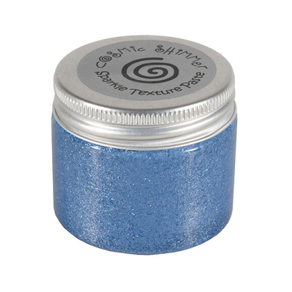 Cosmic Shimmer paste periwinkle
