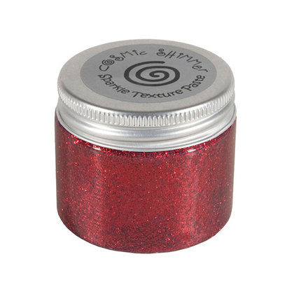 Cosmic Shimmer paste berry red