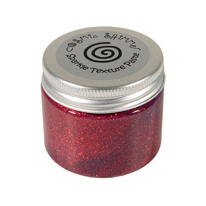 Cosmic Shimmer paste apple red