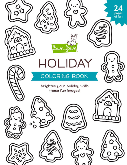 Cuaderno - Holiday para colorear