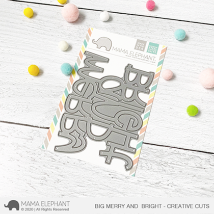 Mama Elephant - Big Merry and Bright - Creative Cuts