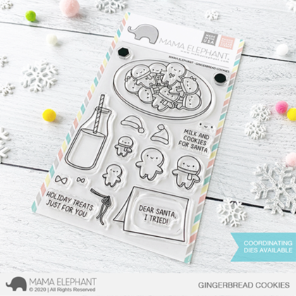 Sellos Mama Elephant - Gingerbread Cookies