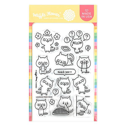 Learning from Home Stamp Set