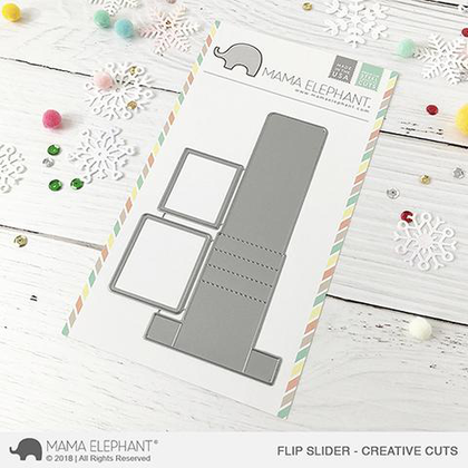 Mama Elephant -Flip Slider - Creative Cuts