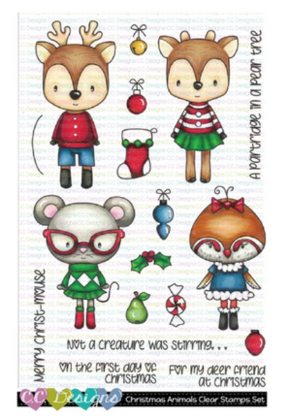 C.C Designs - Christmas Animals