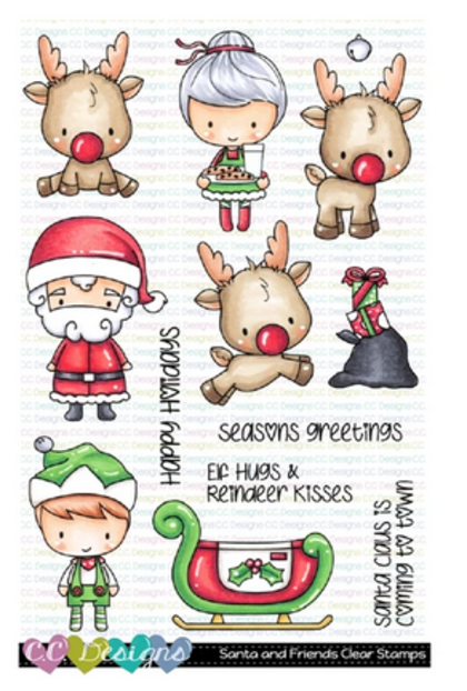 C.C Designs - Santa and Friends