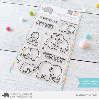 Sellos Mama Elephant - Mammoth Love